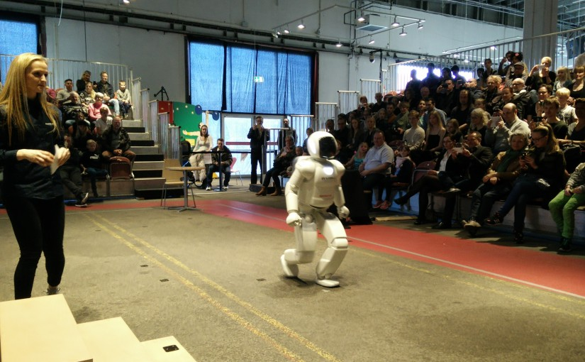 Robot demostration af Asimo